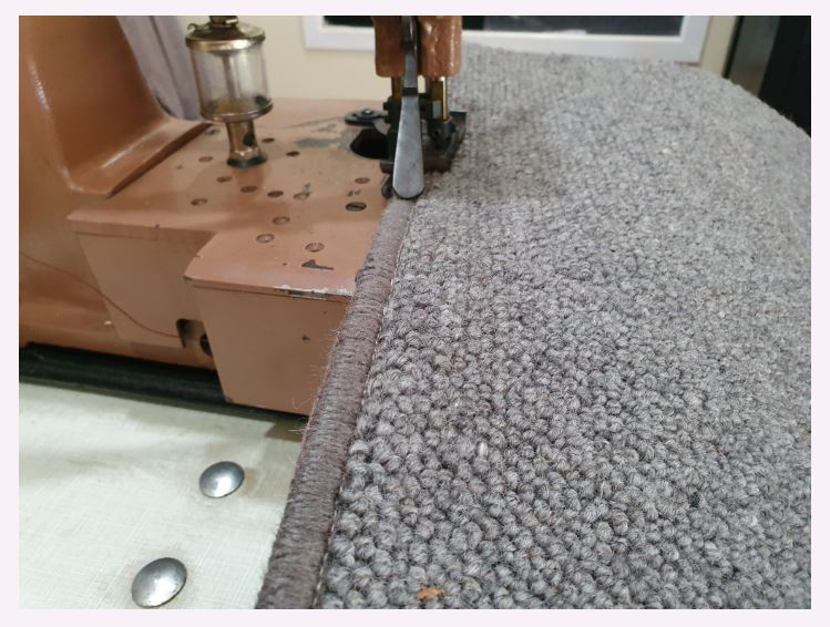 Carpet Over Locking