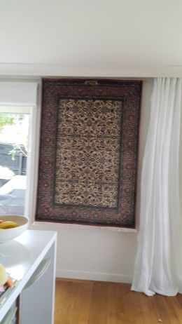 Rug Hanging on Wall